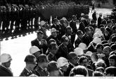 009 Government agent photographs peace demonstrators, Pentagon, Washington, DC 1967