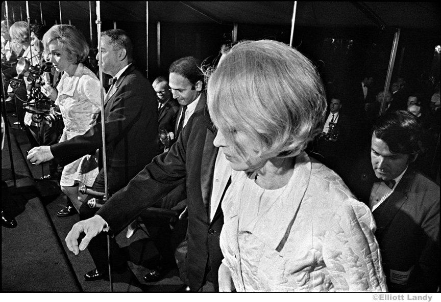 037 Marlene Dietrich, opening night party after her one woman show, NYC, 1968