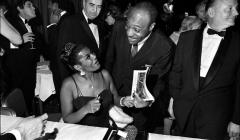 018 Pearl Bailey, singer, International Film Awards ceremony, NYC, 1968