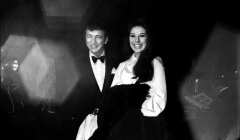 041 Bobby Darin, Bobby Gentry, film premiere, NYC, 1968