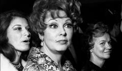 045 Arlene Dahl, opening night party, NYC, 1968