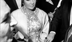 058 Elizabeth Taylor, opening night, 'Dr. Faustus', NYC, 1968