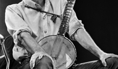 119 Pete Seeger, Newport Folk Festival, Newport, Rhode Island, 1968