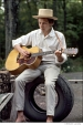 311 Bob Dylan, outside his Byrdcliffe home, Saturday Evening Post session, Woodstock, NY, 1968
