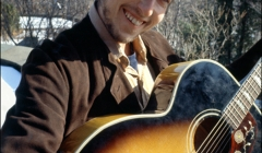 548 Bob Dylan, at his Byrdcliffe home, Nashville Skyline photo sessions, Woodstock, NY, 1969