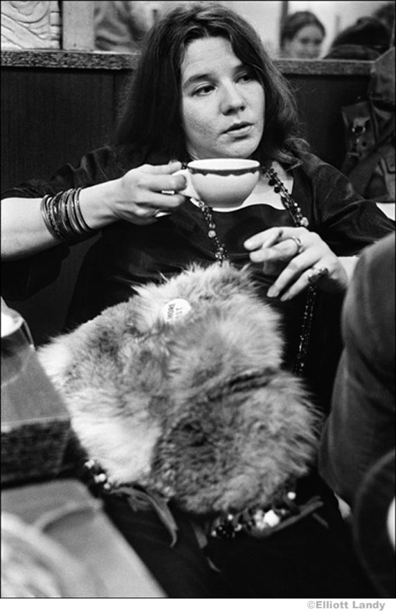 178 Janis Joplin, Ratner's Restaurant, after a Fillmore East Gig, NYC 1968