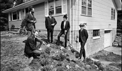 232-The-Band-behind-Big-Pink-Easter-Sunday-West-Saugerties-NY-1968