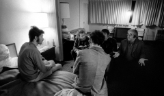 285-The-Band-after-Robbies-hypnosis-w.-John-Simon-Albert-Grossman-Levon-Rick.-Hotel-in-San-Francisco-CA1969