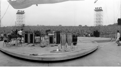 364 The stage that was supposed to rotate, Woodstock Festival 1969, NY
