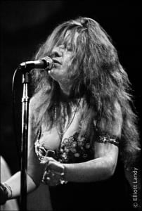 Janis Joplin, Big Brother and The Holding Company. Fillmore East, opening night of the Fillmore, NYC, 1968.