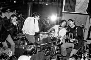 Levon Helm, Bob Dylan, Rick Danko w. Shredni Volper, Lone Star Cafe, NYC, 1983