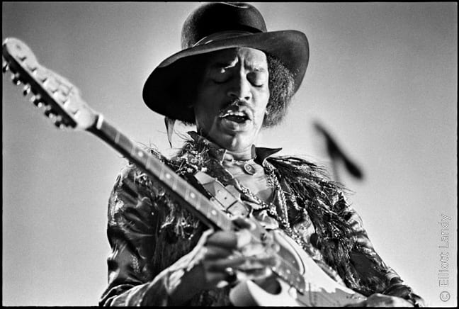 Jimi Hendrix, Fillmore East, NYC, 1968
