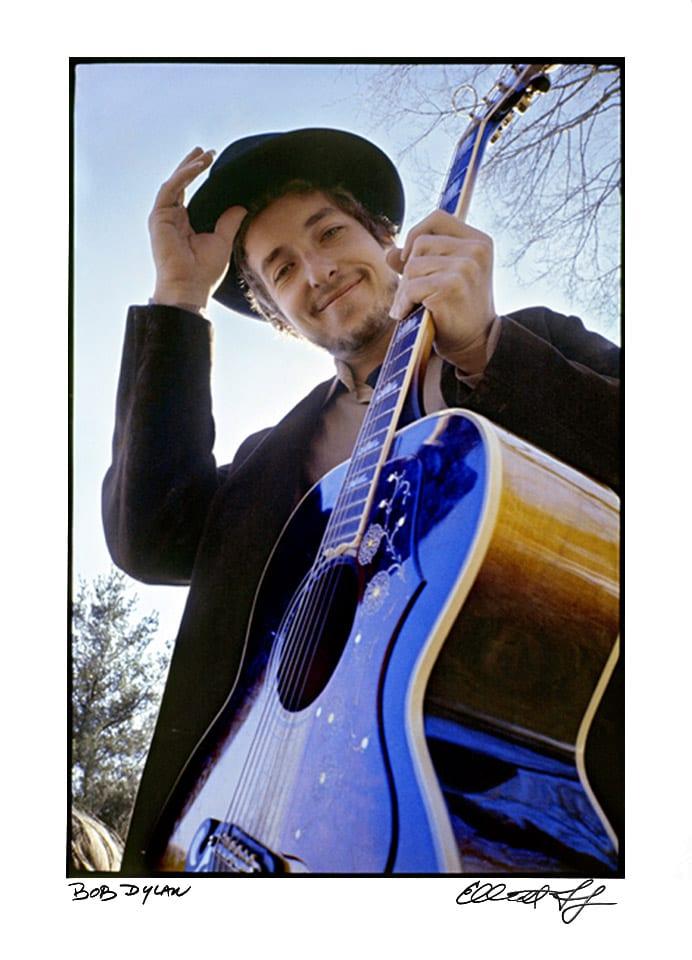 Bob Dylan Litho