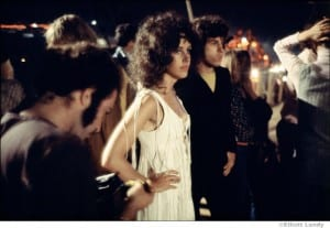 Grace Slick at Woodstock Concert by Elliott Landy