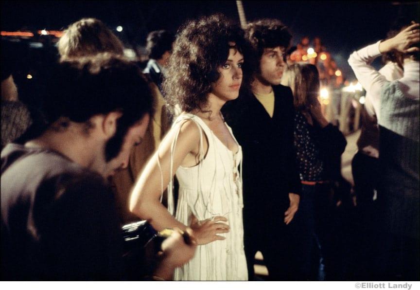 Grace Slick at Woodstock Concert by Elliott Landy